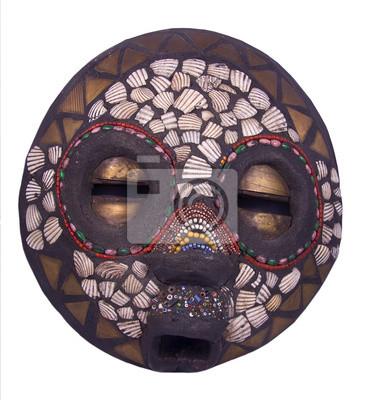 Masque rituel africain