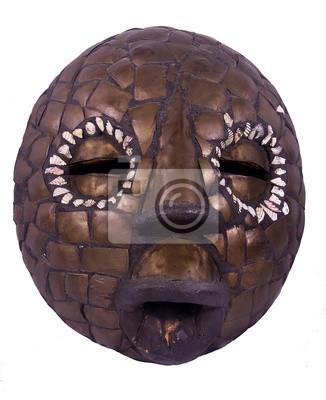 Masque rituel africain du Nigeria