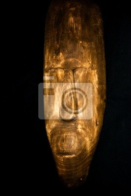 masque tribal africain