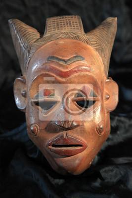 Masque tribal africain - Luba tribu