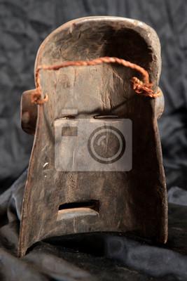 Masque tribal africain - Zande Tribe