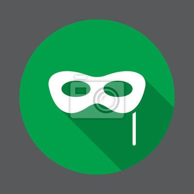 Masquerade ic ne plate du masque de carnaval bouton rond for Papier peint avec rond de couleur