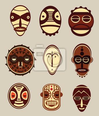 Masques culturelles africaines