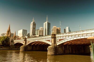 Papiers peints Melbourne, Victoria, Australie. Beau, ville, Horizon