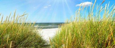 Papiers peints Mer Baltique - dunes et mer