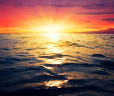 Papiers peints Mer et coucher de soleil