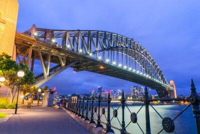 Papiers peints Merveilleux, nuit, Horizon, Sydney, Australie