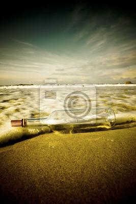 Papiers peints Message dans une bouteille