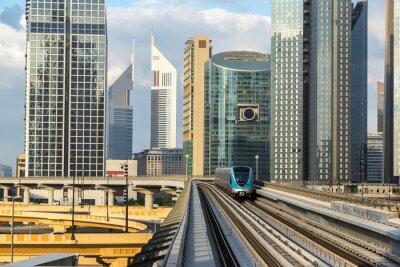 Papiers peints Métro de Dubaï