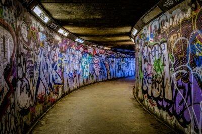 Papiers peints Métro Graffiti