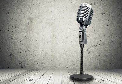 Papiers peints Microphone.