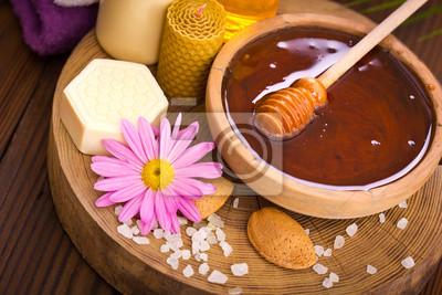 Miel et cure thermale