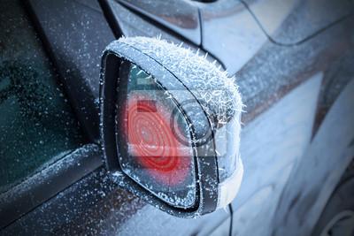 Miroirs chauffants dans la voiture