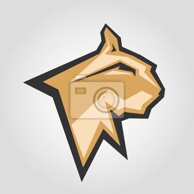 Mockup Template Animal Symbol Logo Emblem Ou Sticker For Branding