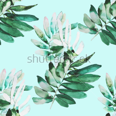 Papiers peints Modèle d'illustration aquarelle