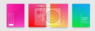 Papiers peints Modèle de couverture de livre ondulé, motif abstrait, texture, couverture, vecteur, ensemble