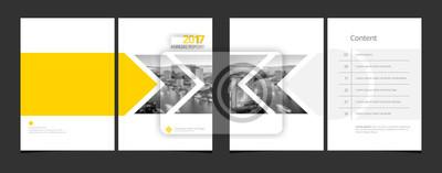 Papiers peints Modèle de couverture et modèle de page de contenu pour le rapport annuel ou catalogue d'entreprise, magazine, dépliant, brochure, brochure. Image d'échantillon EPS-10 de couverture A4 avec Gradient Me