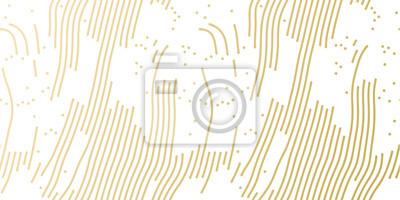 Modèle de fond de modèle de vacances de Noël or pour carte de voeux ou conception de papier d'emballage cadeau. Modèle abstrait de vecteur or pour Noël ou nouvel an wrapper sans soudure fond blanc bri