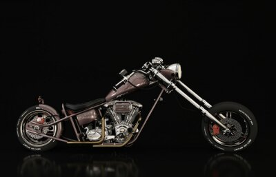 Papiers peints modèle de moto