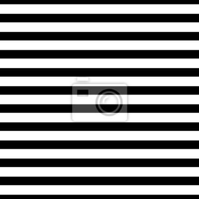 Modèle de vecteur transparent sans rayures horizontales. Ornement simple de fond simple en noir et blanc.