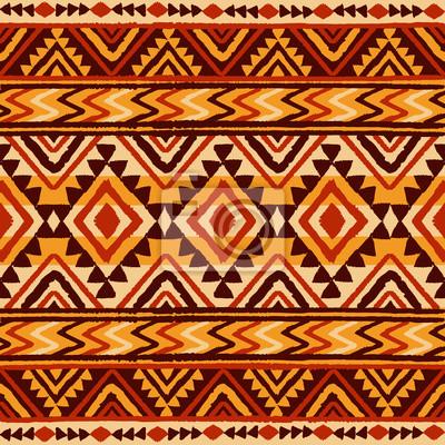 Modèle Géométrique Ethnique. Illustration vectorielle