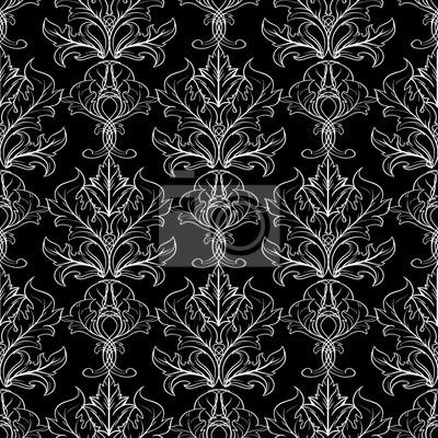 Modele Sans Baroque Lillustration De Papier Peint Darriere Plan
