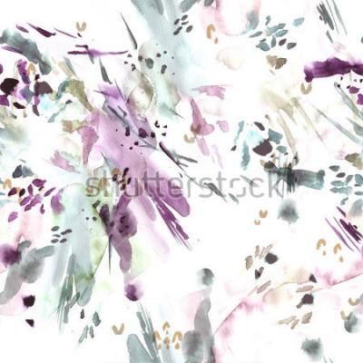 Papiers peints Modèle sans couture. Abstrait aquarelle.