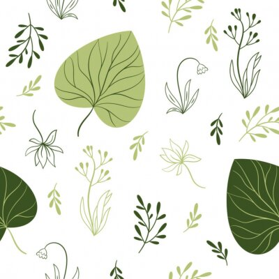 Papiers peints modèle sans couture avec fleurs, éléments floraux, conception de tissu
