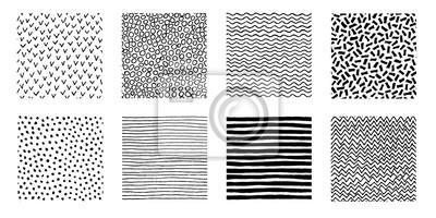 Papiers peints Modèles dessinés à la main Doodle Design