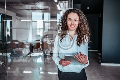 Papiers peints Modern business woman