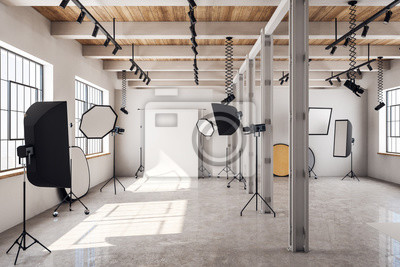 Papiers peints Modern photo studio