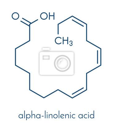 2d0900accfea Molécule dacide alpha-linolénique (ala). lacide gras oméga-3 papier ...