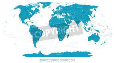 Papiers peints Mondiale, carte, navigation, icônes