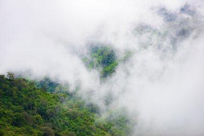 Papiers peints Montagne, brouillard, scénique, thongphaphum