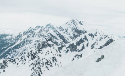 Papiers peints Montagnes enneigées