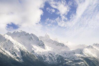 Papiers peints Montagnes et nuages