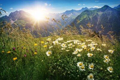 Papiers peints Montagnes, paysage, Vorarlberg