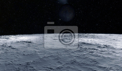 Papiers peints Moon scientific illustration