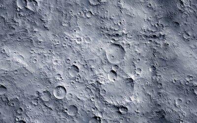 Papiers peints Moon surface. Seamless texture background.