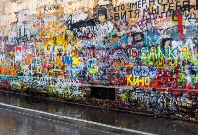 Papiers peints Moscou graffiti