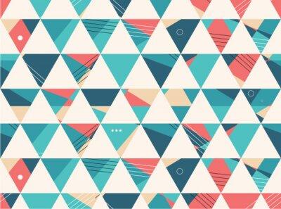 Papiers peints Motif abstrait de vecteur de forme géométrique Seamless