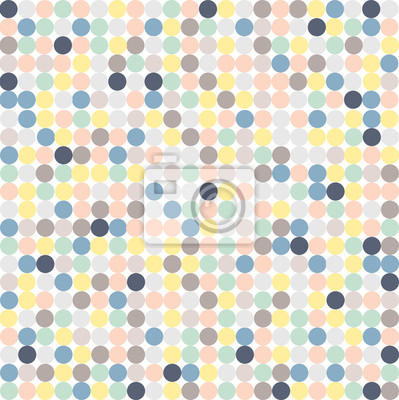 motif cercle couleur pastel papier peint papiers peints
