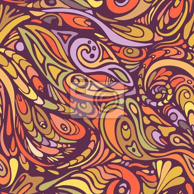 motif coloré de formes abstraites 3