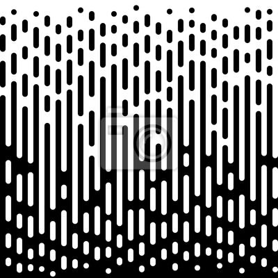 Motif de papier peint abstraite de transition à demi-teinte vectorielle.