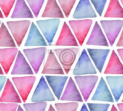 Motif de triangles de couleur froide papier peint • papiers peints ...