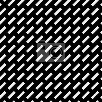 Motif Geometrique Simple Noir Et Blanc Minimaliste Brique Diagonale