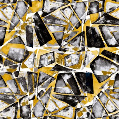 Papiers peints Motif géométrique. Texture aquarelle abstraite dans un style moderne.