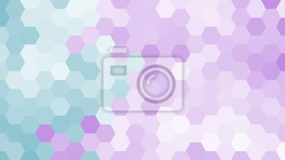 Motif Hexagonal Geometrique Pastel Sans Contour Papier Peint