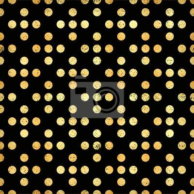 Motif Noir Et Or Abstrait Moderne Geometrique Illustration Papier