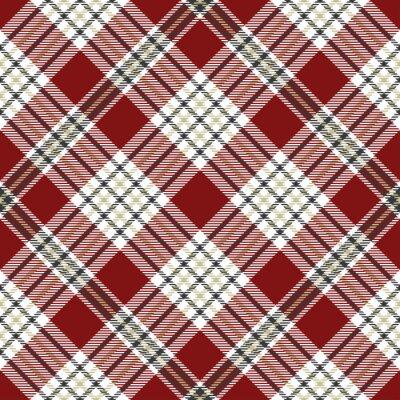 Motif Tartan Plaid Transparent En Gris Beige Blanc Et Rouge